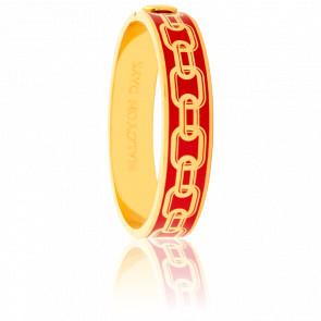 Bracelet Chain Rouge & Doré