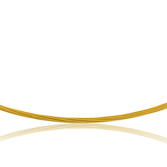 Collier Câble Fulda, Or jaune 18K, longueur 55 cm