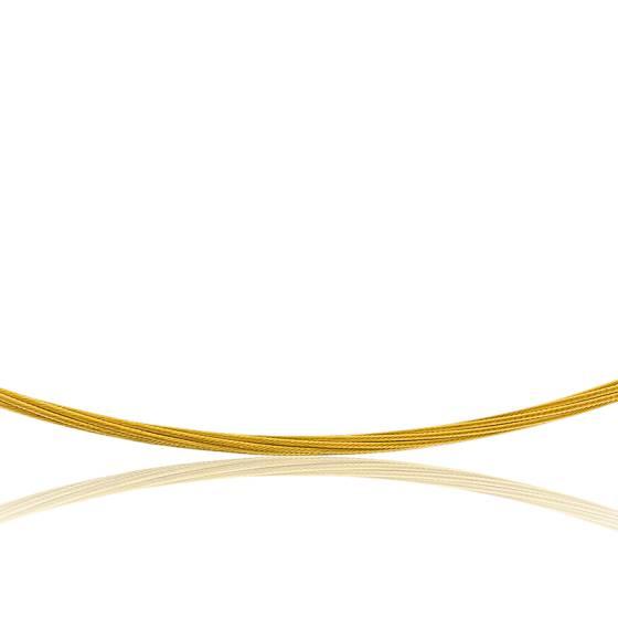 Collier Câble Fulda, Or jaune 18K, longueur 45 cm