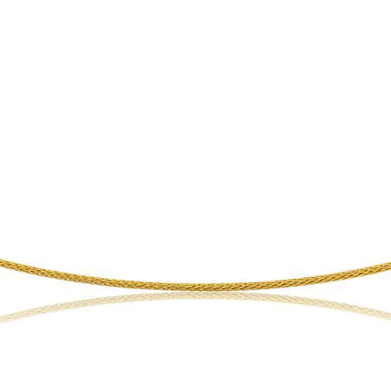 f3c5cf9ce Collier câble Varna, Or jaune 18K, longueur 55 cm - Ocarat