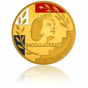 Médaille du Baccalauréat Bronze Doré 3 Couleurs
