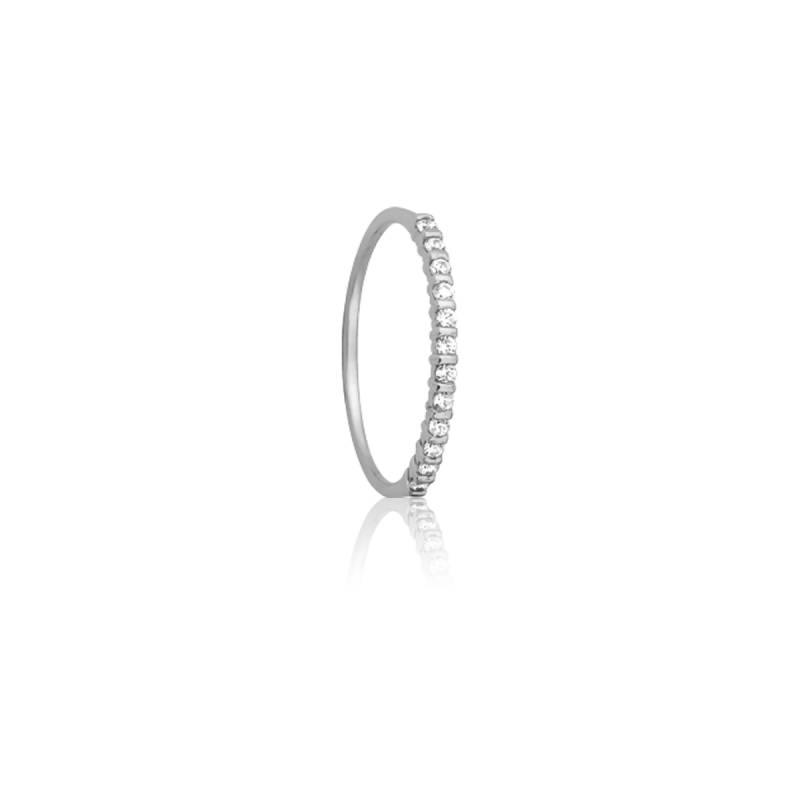 Alliance Inspiration or blanc 18K et diamants