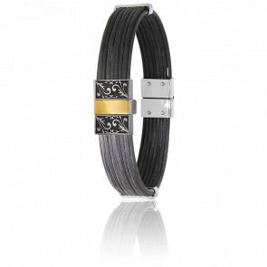 Bracelet 12 mm Corne de Buffle