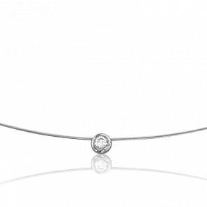 Collier Sonia or 18k et diamant