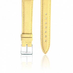 Bracelet Tissu Dune Argent