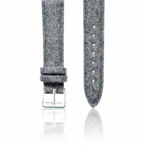Bracelet Tweed Gris Argent