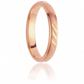 Alliance Avaroa 4,5 mm Or Rose 18K