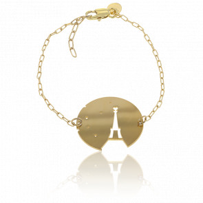 Bracelet Fay Eiffel Plaqué Or Jaune