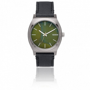 The Time Teller Gunmetal/Green Oxyde/Black A045-2070