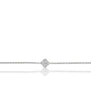 Collier Nixie Or Blanc & Diamants 0.25 ct