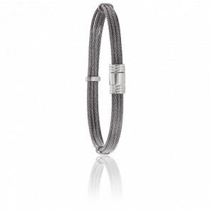 Bracelet 608 Câbles Droits  & Acier