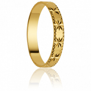 Alliance Palmas 3 mm Or Jaune 18K - Orest