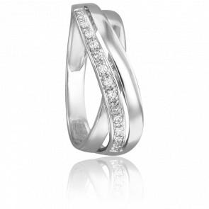 Bague Manon Or Blanc & Diamants