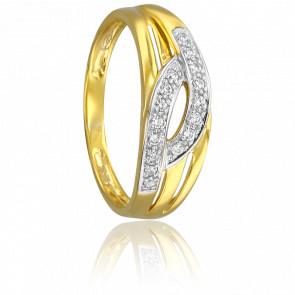 Bague Aleni 2 Ors & Diamants