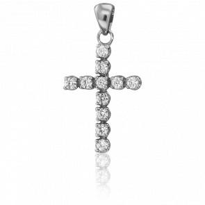 Pendentif Kelya Or Blanc & Diamants
