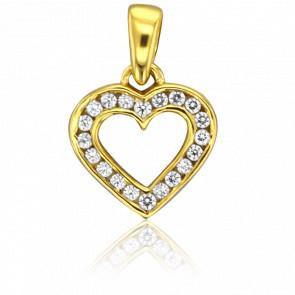 Pendentif Lovediam Or Jaune 18K & Diamants