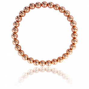 Bracelet Palline Doré Rose