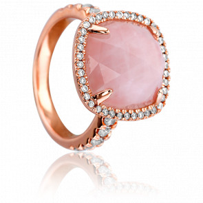 Bague Pescara Quartz Rose