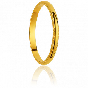 Alliance Huanuco 2 mm Or Jaune 18K