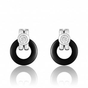 Boucles d'oreilles Oeil de Diamant - Ultimate Ceramic