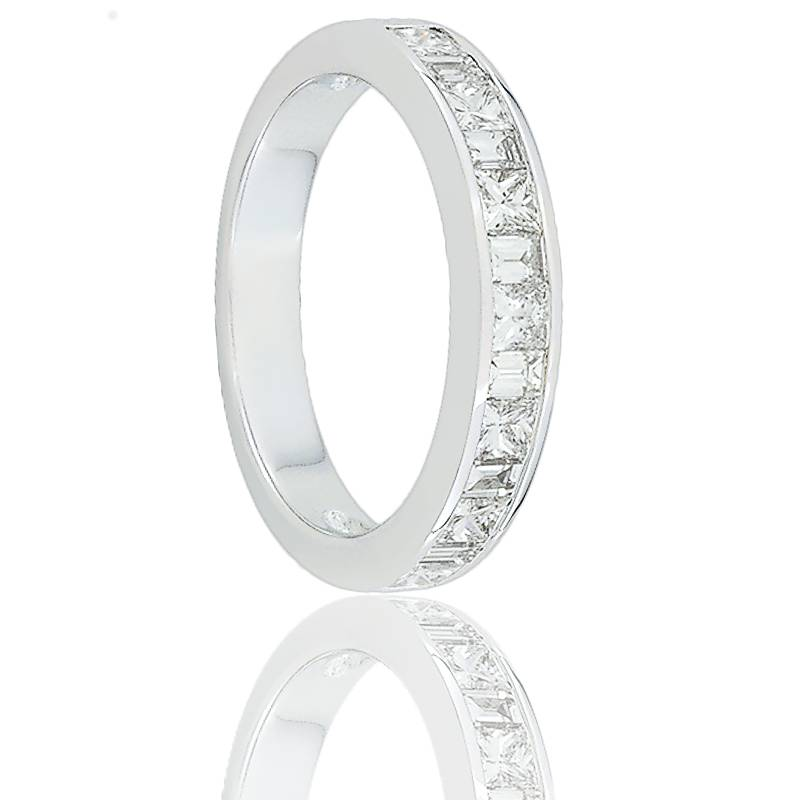 Alliance Oriza Or Blanc 18K et Diamants