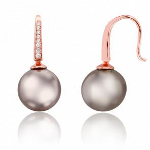 Boucles d'Oreilles Mellow Vermeil & Perle
