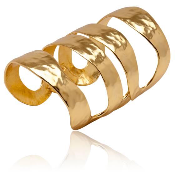 Bracelet Manchette Doré Katy