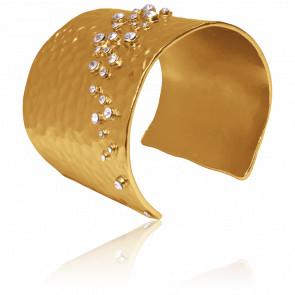 Bracelet Manchette Doré Lou