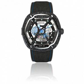 Organic Time 4 Carbon & Blue OT4