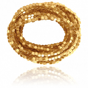 Bracelet Manchette Doré Ava