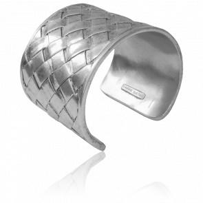 Bracelet Manchette Argenté Diane