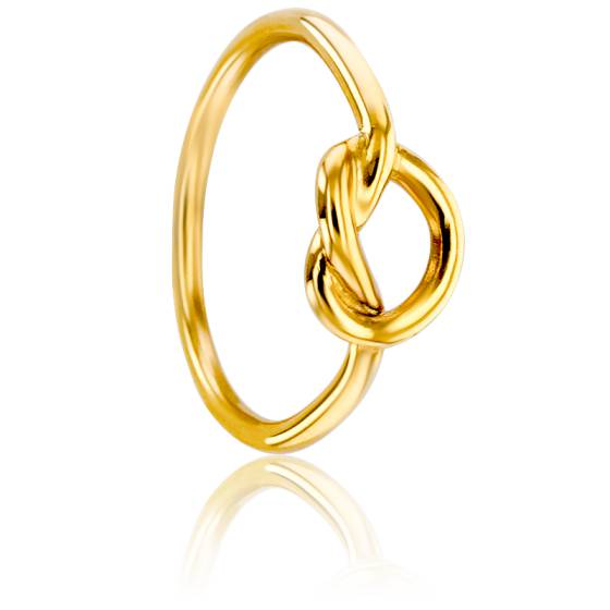 Bague Noeud Marin Or Jaune