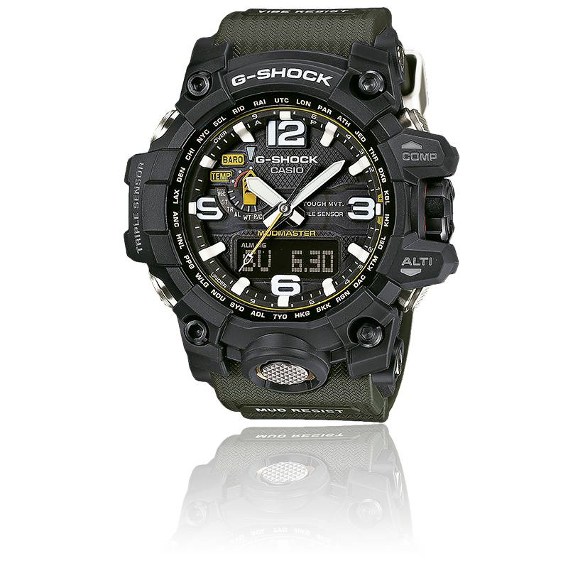 gwg 1000 1a3er mudmaster g shock casio ocarat. Black Bedroom Furniture Sets. Home Design Ideas