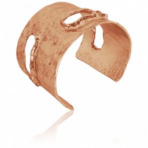 Bracelet Manchette Rose Carla