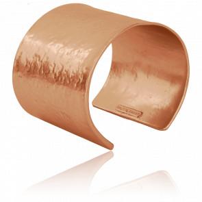 Bracelet Manchette Rose Zoé
