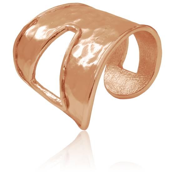 Bracelet Manchette Rose Romane