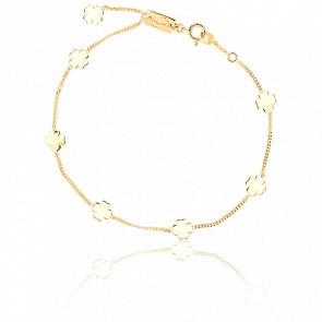 Bracelet Trèfles Or Jaune