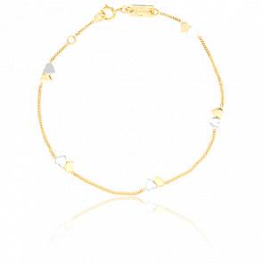 Bracelet Coeurs 2 Ors