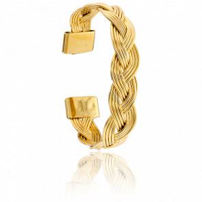 Bracelet Manchette Adelaide Doré