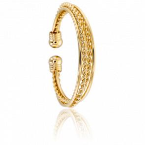 Bracelet Manchette Maroia Doré