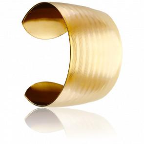 Bracelet Manchette Opportune Plaqué Or Jaune