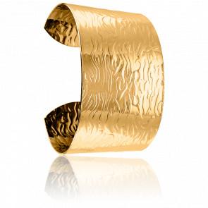 Bracelet Manchette Plamedie Doré
