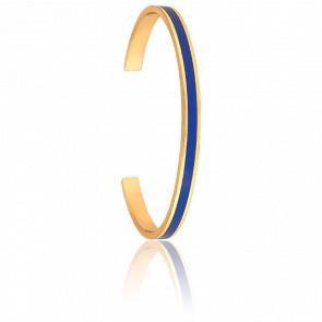 Bracelet Jonc Uni Bleu Klein - Bangle-up