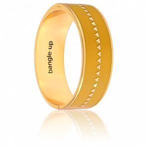 Bracelet Bollystud Ornementé Jaune Safran