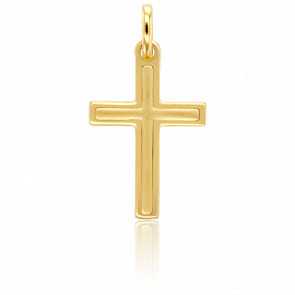 Croix Intemporelle Or Jaune 18K