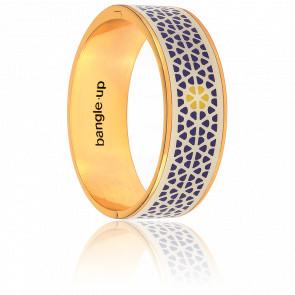 Bracelet Violette Ivoire & Gris Ardoise