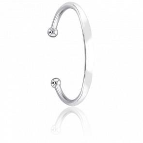 Bracelet Jonc 4 mm Argent