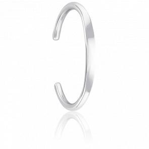 Bracelet Jonc 6 mm Argent