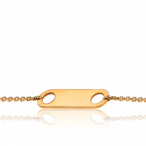 Bracelet Aimants Or Jaune 18K