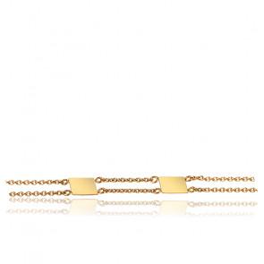 Bracelet Ames Sœurs Or Jaune 18K